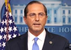 HHS Sec. Azar submitted resignation