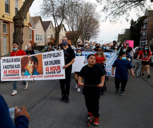 'We failed Adam': 13-year-old Adam put hands up before fatal police shooting