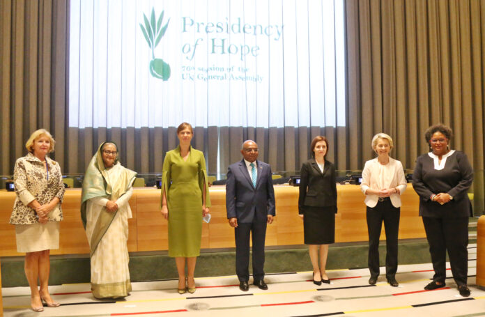 Bangladesh Prime Minister urgently called for a Women Leaders' Network